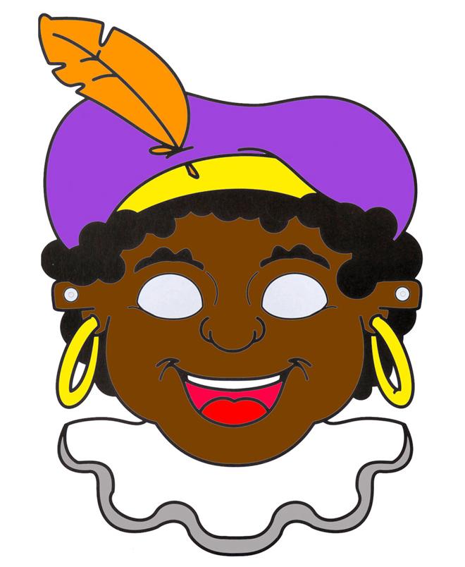 Zwarte Piet Masker Maken